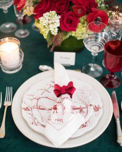 A Very Merry Christmas Table with Juliska