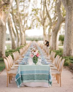 Dinner in a Provincial Pear Orchard to Inspire a Meals of Thanks