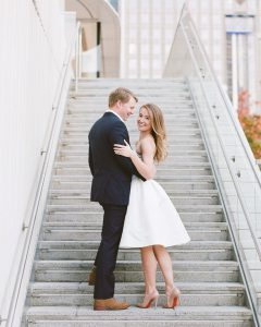 Downtown Engagement Portraits and a Playlist to Pair