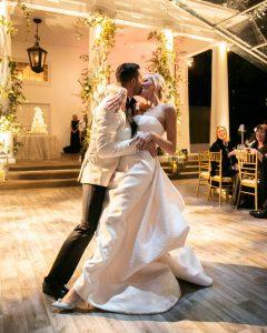 Lauren and Ryan's Elegant White Winter Wonderland