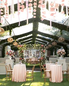 Favorite Use of Boxwoods for the Garden Bride