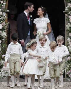 The Southern Flower Girl and Ring Bearer with a Royal Nod