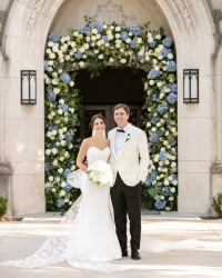 Grace and Kevin's Hydrangea-Filled Brook Hollow Celebration