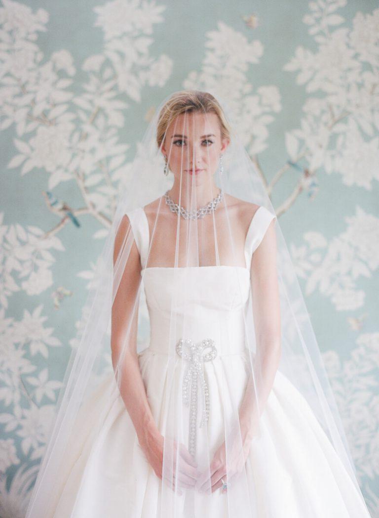 Gracie Panel Bridal Portrait
