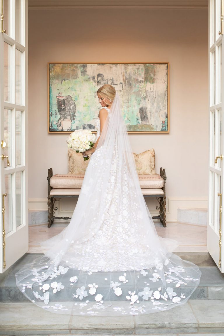 At Home Bridal Portrait