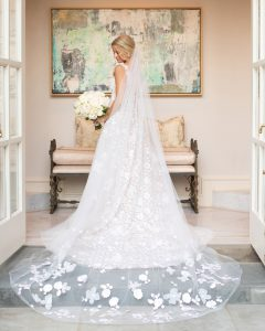 Griffin Young's Bridal Portraits at Home