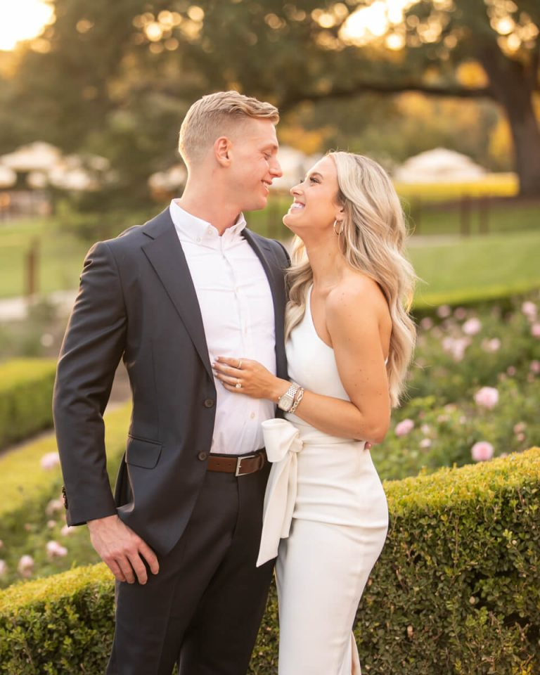 Lee Travis and Emily Herren Engagement Portraits at Commodore Perry Estate