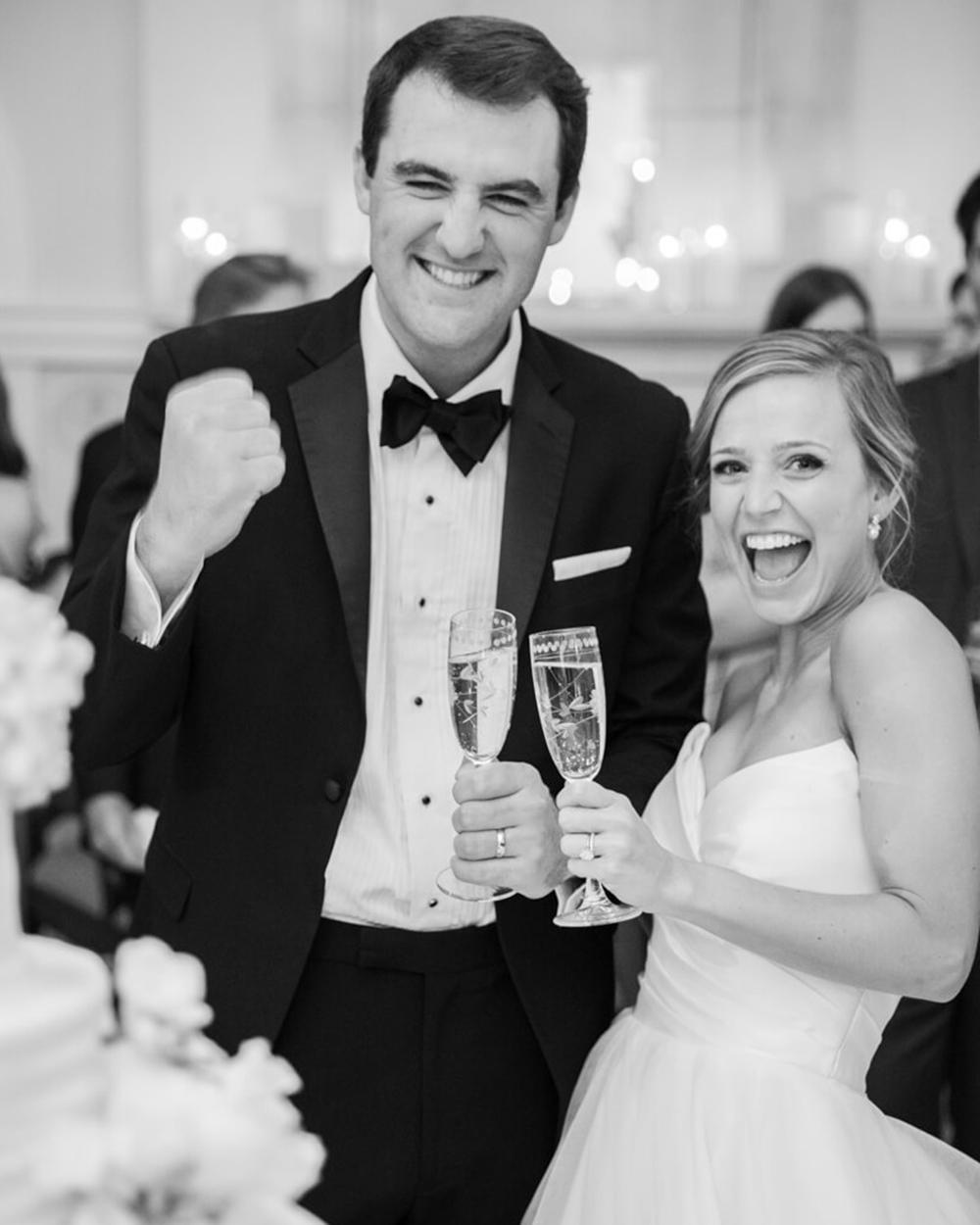 A Winter Wonderland Wedding for Meredith and Scottie