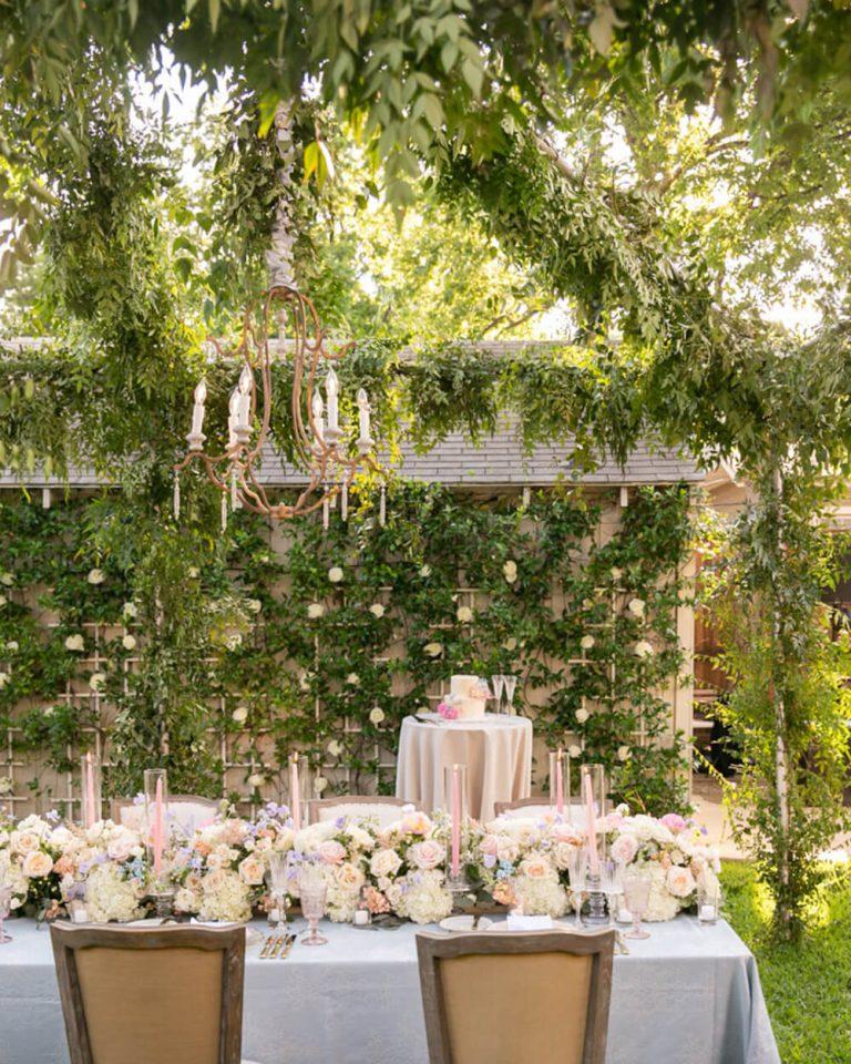 At Home Wedding Details