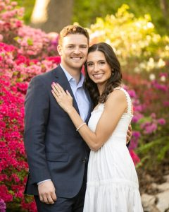 Springtime in the Park for Taylor and Will's Engagements