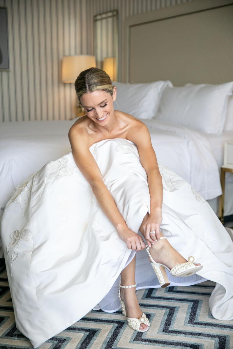 caitlin buckling her heels