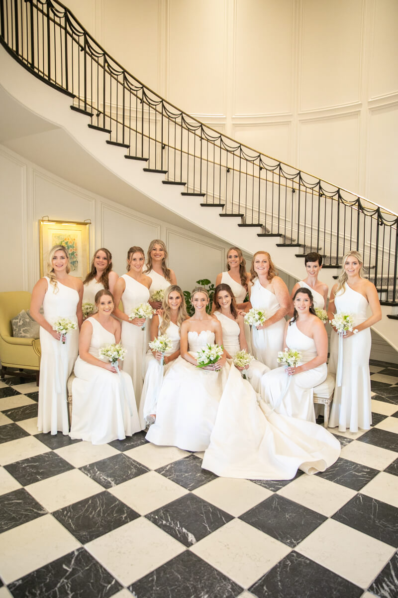 caitlin and her bridesmaids