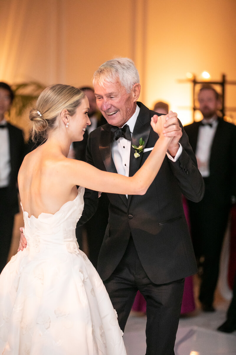 caitlin dancing with her dad