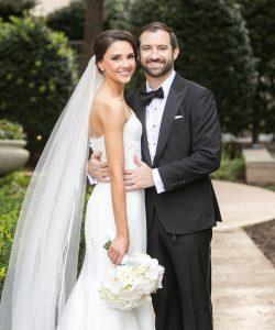 Carey and David's Contemporary Ritz-Carlton Wedding