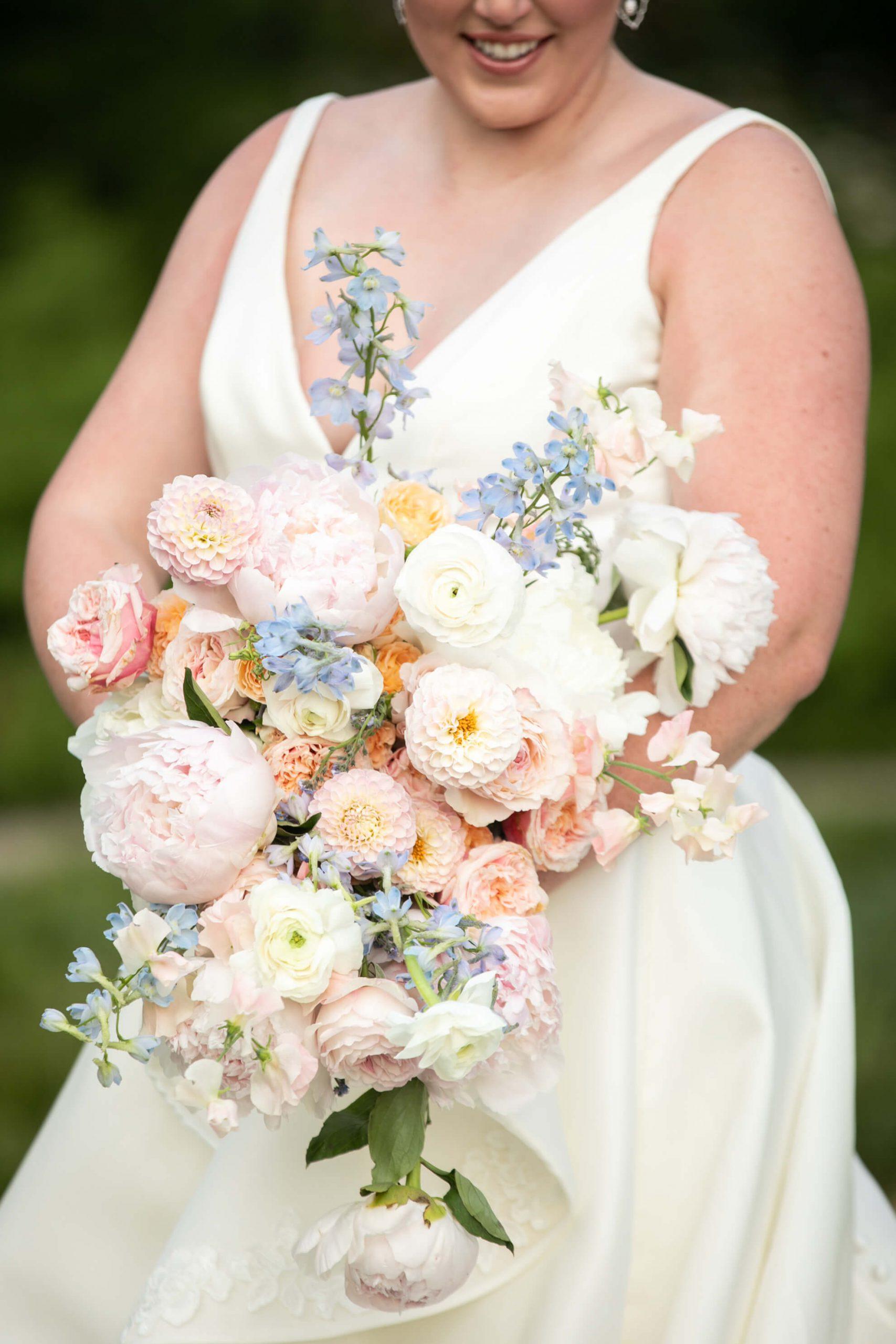 Carole Anne's bouquet